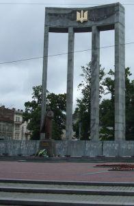 Bandera-w-Lwowie